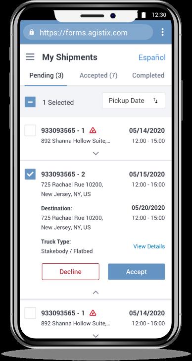 supply chain management app